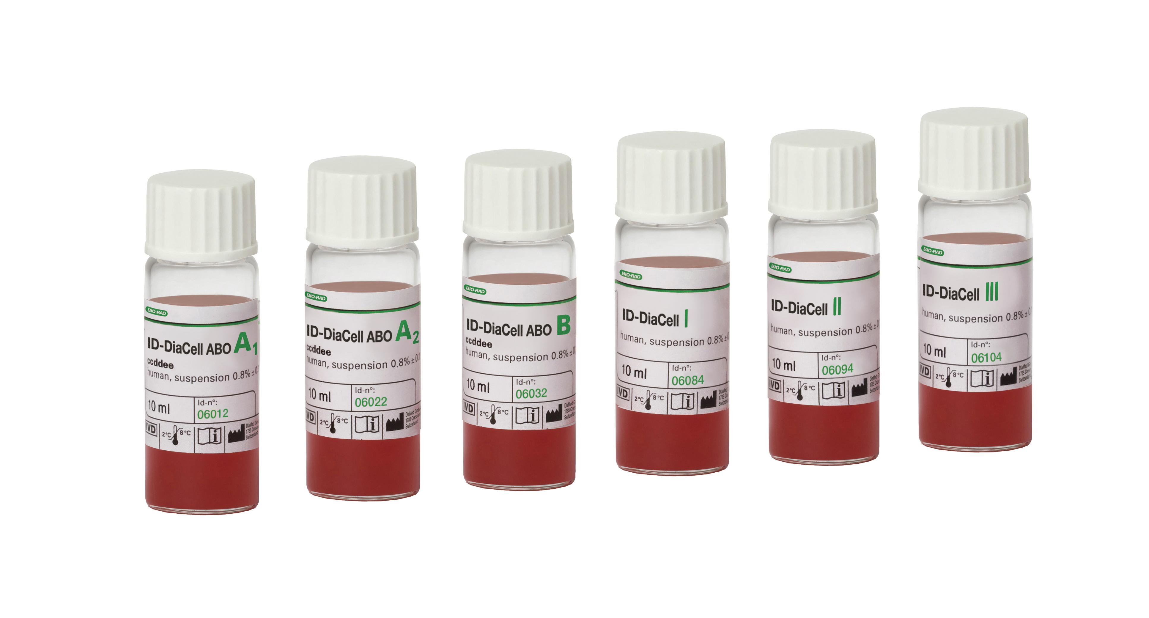 Реагент ID-DiaCell ABO/I-II-III